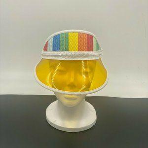 VTG Rainbow Pride LGBTQ+ Adjustable Visor-Tinted